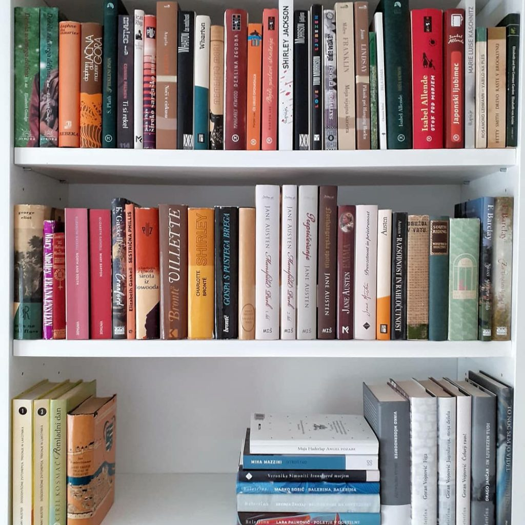 Moja knjižnica.